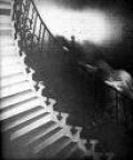 Ghost on stair case.