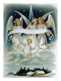 Christmas Angels, Courtesy of AllPosters.com