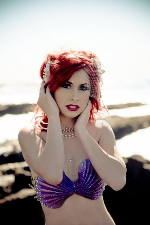 Ariel, the Little Mermaid, Halloween costume.
