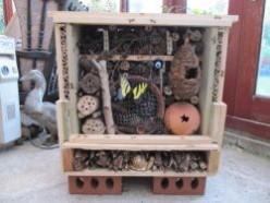 How to Build a Bug Hotel or Hibernaculum