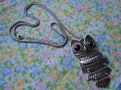 owl necklace inspiration picture