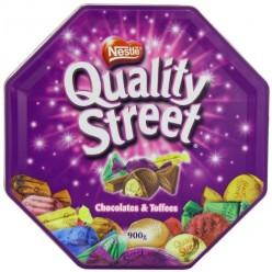 Quality Street: British chocolates available in the USA