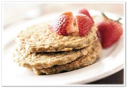 Eat-Clean Oatmeal Pancakes