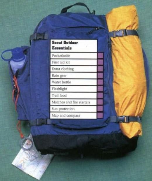 Scout Outdoor Ten Essentials