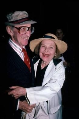Ruth Gordon and Garson Kanin