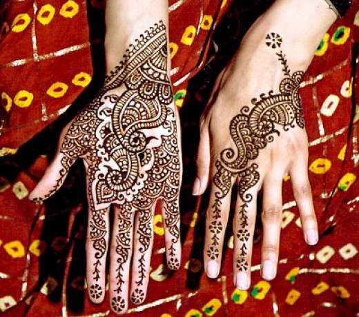 mehndi tattoos. Arabic mehndi is very imprtant