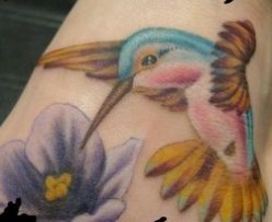 Hummingbird Tattoo Art