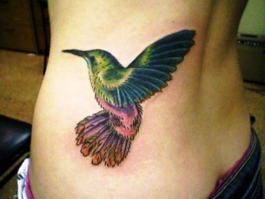 Custom Hummingbird Tatt