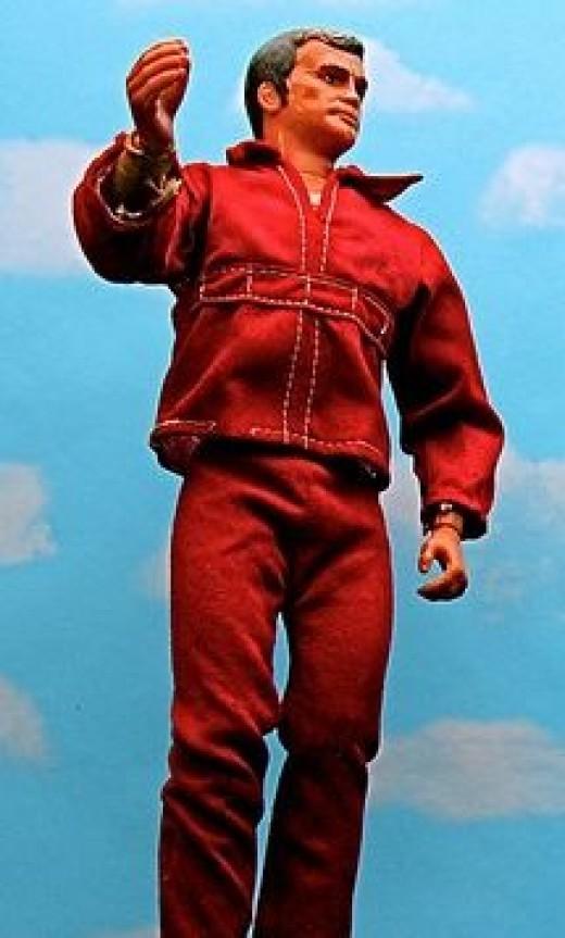 Bionic Man Figure - JD Hancock