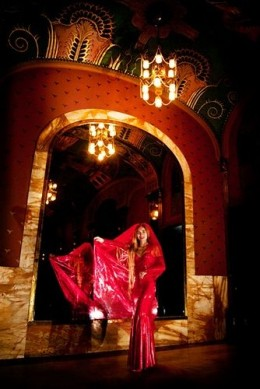 Red Indian Inspired Wedding Gown