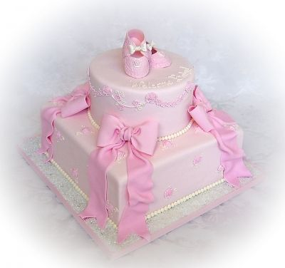 Sweet Baby Girl Cake Pic