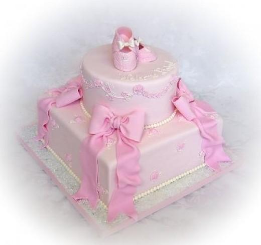 Sweet Baby Girl Cake Pic