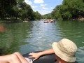 Tubing Down The Comal River