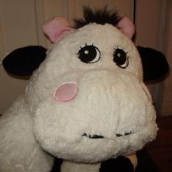 large stuffed animals, stuffed toy, stuffed cow, cow toy, big stuffed animal, giant stuffed cow, huge plush animal