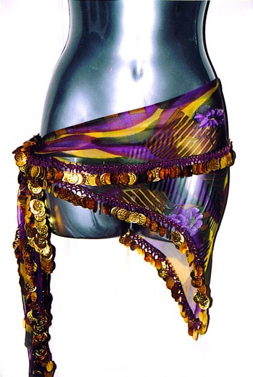 Silk Hip Scarf I