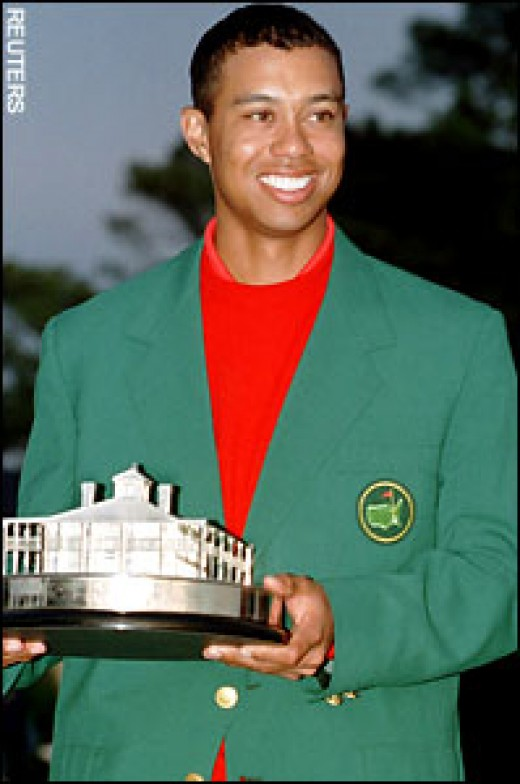 Tiger Woods Has Four Masters Championships