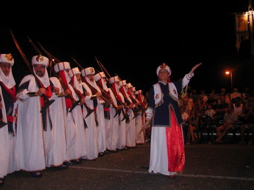 Part of the Moor's parade