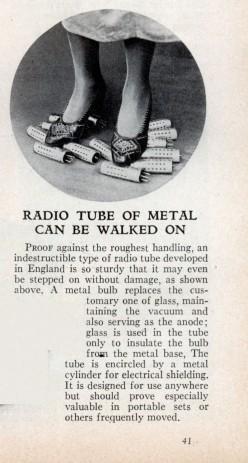 metal radio tube ad