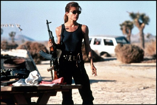 Linda Hamilton got ripped for this movie