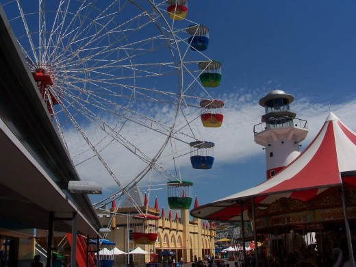 Giant Ferris Wheel at Luna Park