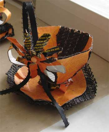 Halloween Teacup Decoration