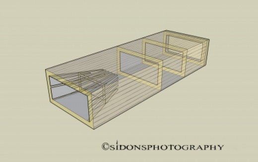 Slat Box Fish Trap