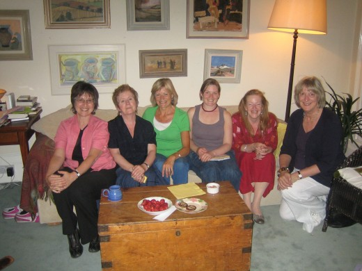 My Writing Tribe where I wrote my stories for 3 years.  All the women were brilliant at listening and giving me constructive feedback, and crying and laughing with me.  Every woman should have such a tribe!  I published my first magazine article in t