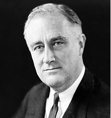 Picture of Franklin D Roosevelt