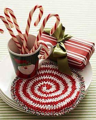 Candy Swirl Hotpad FREE crochet pattern