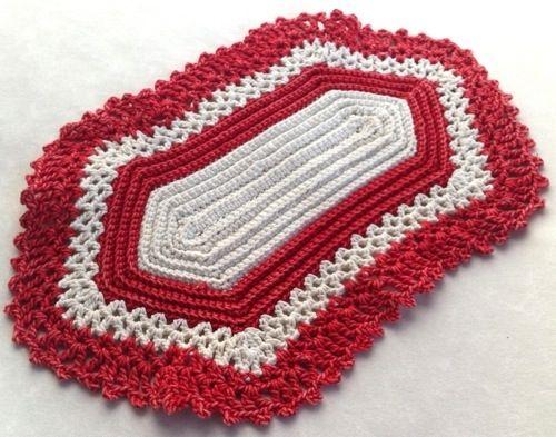 Hexagon Doily FREE crochet pattern
