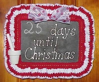 Candy Cane Countdown FREE Crochet Pattern