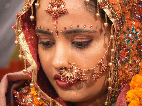 An Indian Bride. Photo: Flickr.com.