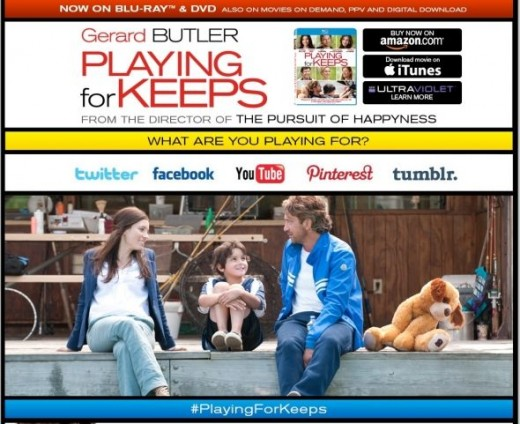 Playing for Keeps Website