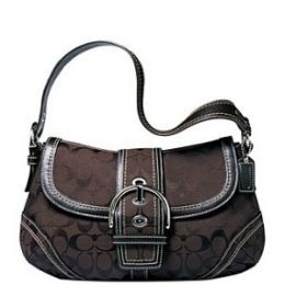 COACH SOHO SIGNATURE FLAP