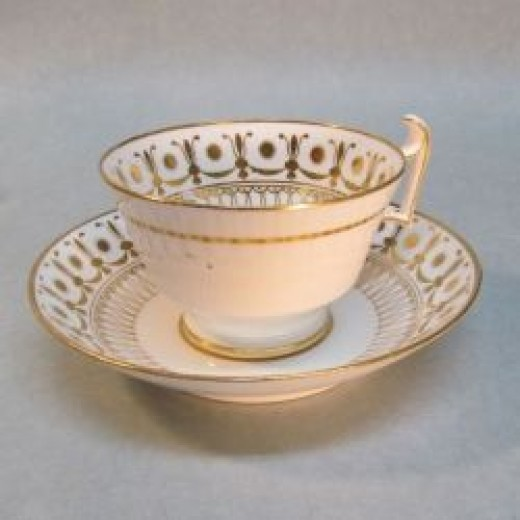 Spode Cup and Saucer ca. 1810