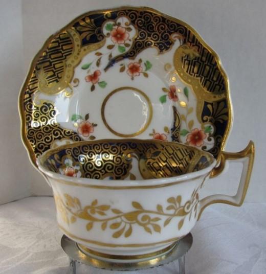 Ridgway Cup & Saucer, English Imari