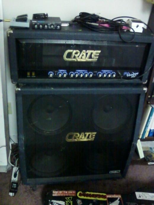 Crate Blue Voodoo 120 watt Half Stack