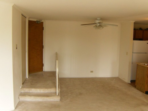 Entranceway with dining area