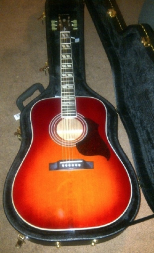 My personal Epiphone Limited Edition Hummingbird Artist