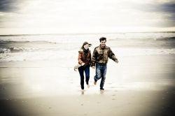 Jenny & Tyler at the beach