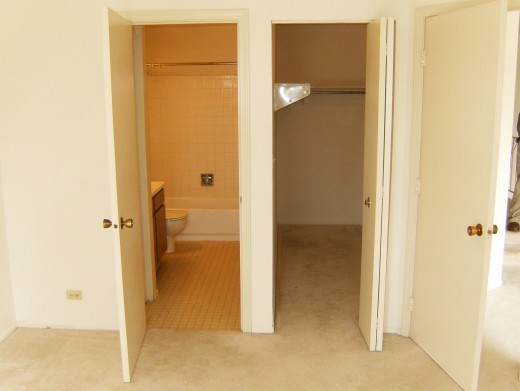 Master Bath and Closet