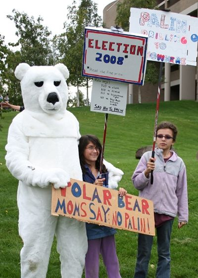 The Polar Bears say NO!