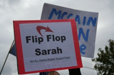 Not all Alaska women support Sarah Palin