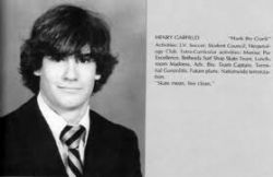 Henry's High School Year Book Picture
