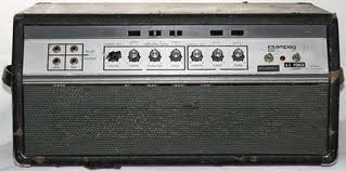 1969 Ampeg SVT bass amp head