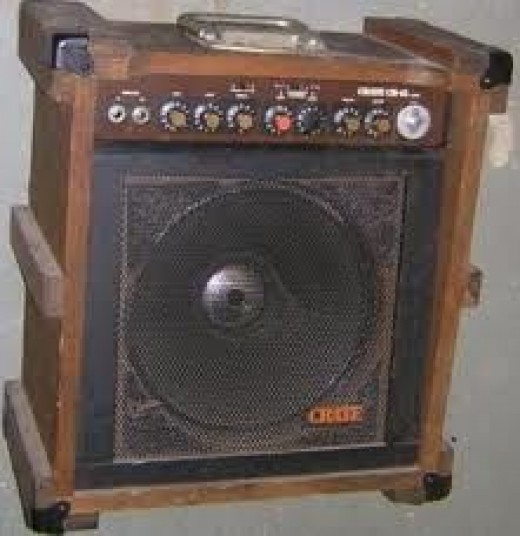 Early 1980's model Crate amp