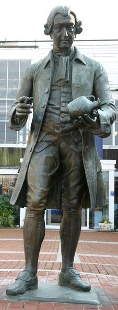 Statue of Josiah Wedgwood, Stoke-on-Trent