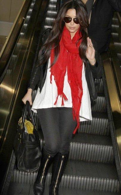 Kim Kardashian rocking True LoveCredit: public commons