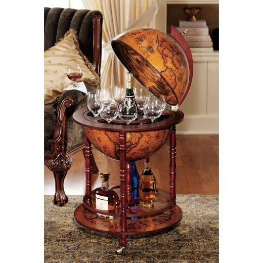 Globe Beverage Bar. Available on Amazon.com. Photo from Amazon.