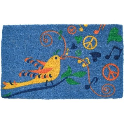 A colorful, music inspired welcome mat. Available on Amazon.com. Photo from Amazon.